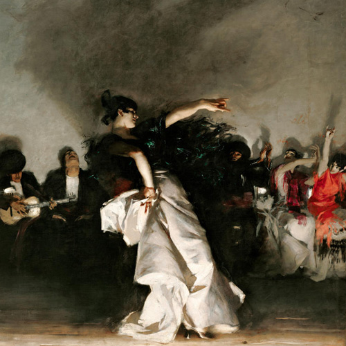 Sargent, Tent In The Rockies