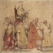 Raphael - Procession of Pope Sylvester I, about 1516-1517 height=