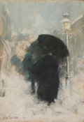 Childe Hassam - A New York Blizzard, about 1890 height=