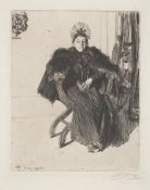 Anders Zorn - Isabella Gardner, 1894 height=
