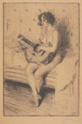 Anders Zorn - The Guitar Player, 1900