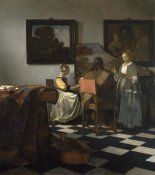 Johannes Vermeer - The Concert, 1663-1666 (stolen) height=