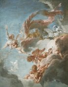 Francois Boucher - The Chariot of Venus, 18th century