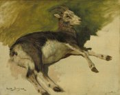 Rosa Bonheur - A She-Goat, 19th century height=