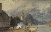 Joseph Mallord William Turner - The Roman Tower, Andernach, 1817