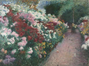 Dennis Miller Bunker - Chrysanthemums, 1888 height=