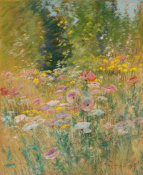 John Appleton Brown - Garden of Poppies, before 1891