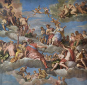 Paolo Veronese - The Coronation of Hebe, 1580s