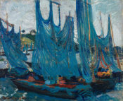 Boris Anisfeld - Blue Sails - Concarneau I, 1910 height=