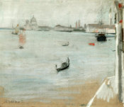 John Henry Twachtman - The Lagoon, Venice, 1885 height=