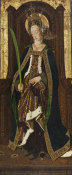 Bartolome Bermejo - Saint Engracia, about 1474 height=