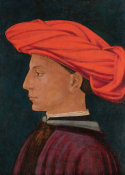 Masaccio - A Young Man in a Scarlet Turban, about 1425-1427 height=