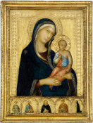Simone Martini - Virgin and Child, about 1325 height=