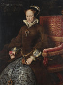Antonis Mor - Mary I, Queen of England, 1554