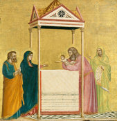 Giotto - The Presentation of the Christ Child in the Temple, about 1320