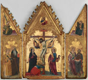Andrea Vanni - The Crucifixion, with Saints, about 1353-1414