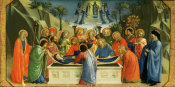 Fra Angelico - The Dormition of the Virgin, about 1425