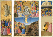 Fra Angelico - Corsini Triptych (The Ascension, The Last Judgment, Pentecost), about 1447-1448