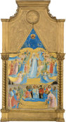 Fra Angelico - The Dormition and Assumption of the Virgin, 1424-1434