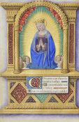 Jean Bourdichon - Book of Hours: The Virgin Mary in Glory, 1490-1515