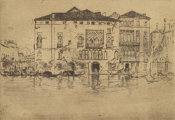 James McNeill Whistler - First Venice Set: The Palaces, 1880