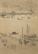James McNeill Whistler - Second Venice Set: Upright Venice, 1879-1880