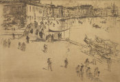 James McNeill Whistler - Second Venice Set: Riva, No. 2, 1879-1880