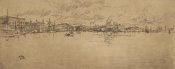 James McNeill Whistler - Second Venice Set: Long Venice, 1879-1880