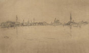 James McNeill Whistler - Second Venice Set: Salute Dawn, 1879-1880