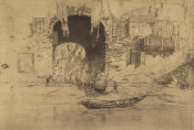 James McNeill Whistler - Second Venice Set: San Biagio, 1880