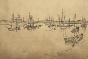 James McNeill Whistler - Second Venice Set: San Giorgio, 1880