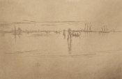 James McNeill Whistler - Second Venice Set: The Long Lagoon, 1879-1880