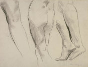 John Singer Sargent - Study for Three Dancing Figures, 1917-1921