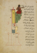 Muhammad ibn Ahmad al-Izmiri - from al-Jazari's Book of Knowledge of Ingenious Mechanical Devices: The Candle-Clock, 1354
