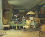 Martin Mower - The Music Room at Green Hill, 1913
