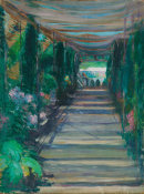 Andreas M. Andersen - Pergola, Green Hill, late 19th century - early 20th century