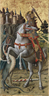 Carlo Crivelli - Saint George Slaying the Dragon