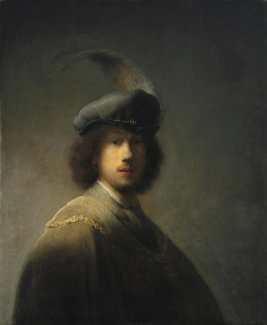 Rembrandt - Self-Portrait, Age 23, 1629