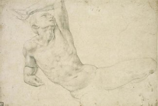 Agnolo Bronzino - Study for a Figure in 'The Resurrection', about 1548-1552