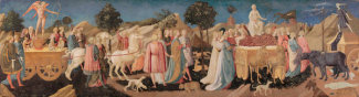 Francesco Pesellino - The Triumphs of Love, Chastity and Death, about 1450