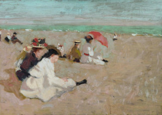Denman W. Ross - The Beach, about 1908