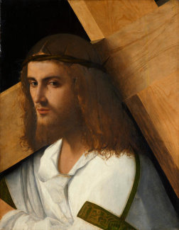 Circle of Giovanni Bellini - Christ Carrying the Cross, about 1505-1510