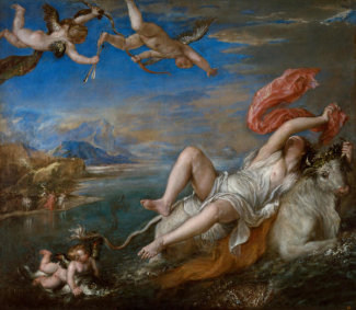 Titian - Rape of Europa, 1562