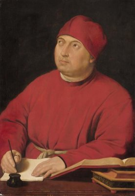 Raphael - Count Tommaso Inghirami, about 1515-1516