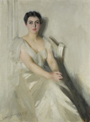 Anders Zorn - Mrs. Grover Cleveland, 1899