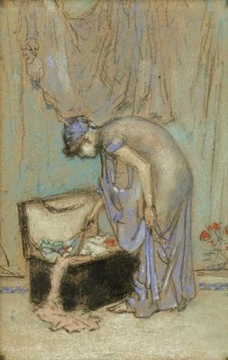 James McNeill Whistler - The Violet Note, 1885-1886