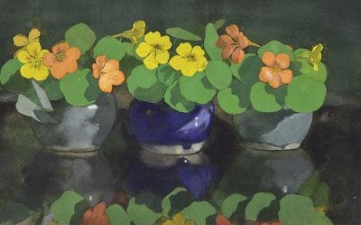 Jan Voerman - Nasturtiums, 19th century