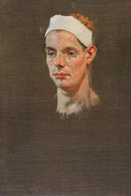 Denman W. Ross - Study of John Feeney, 1919