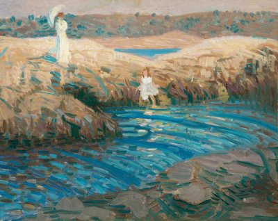 Howard Gardiner Cushing - Among the Rocks, 1906-1916