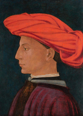 Masaccio - A Young Man in a Scarlet Turban, about 1425-1427